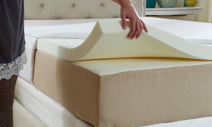 Natures Sleep Cool IQ Memory Foam Mattress Topper