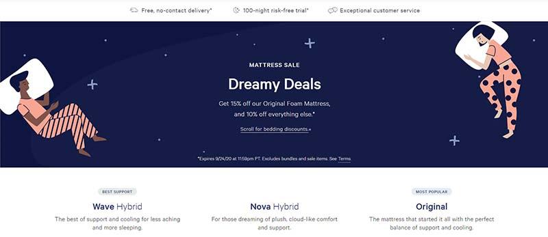 dreamy deals